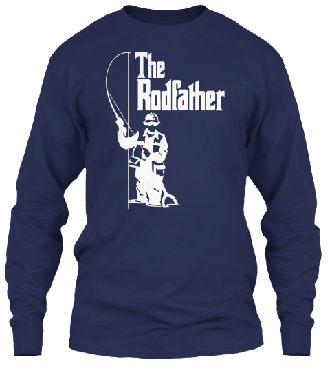 Long sleeve fishing shirts the rodfather products from for Fishing gear clothing