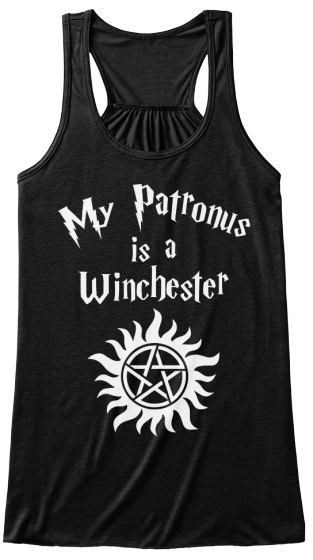 My Patronus Is A Winchester Women's Tank Top Front