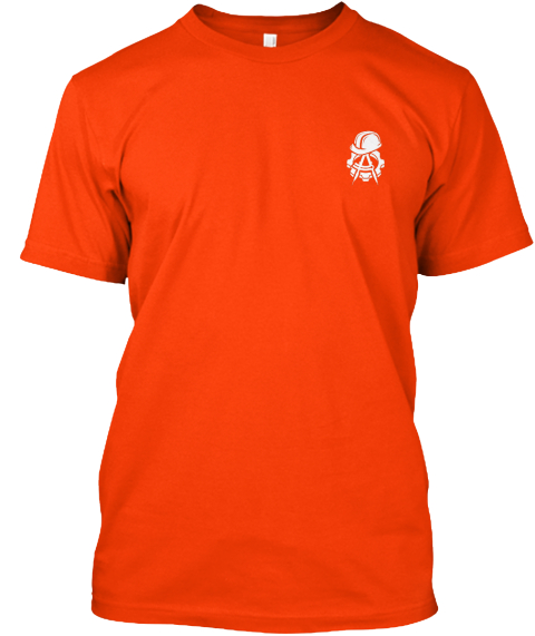 Chief Engineer   Limited Edition Orange T-Shirt Front