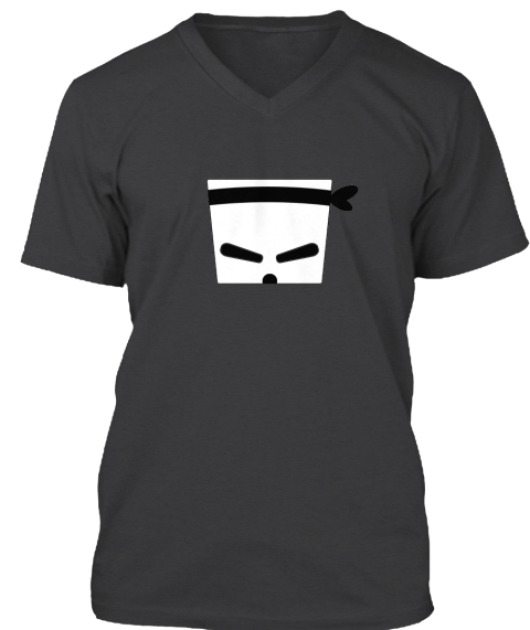 Pininja Limited Edition T Shirt Dark Grey Heather T-Shirt Front