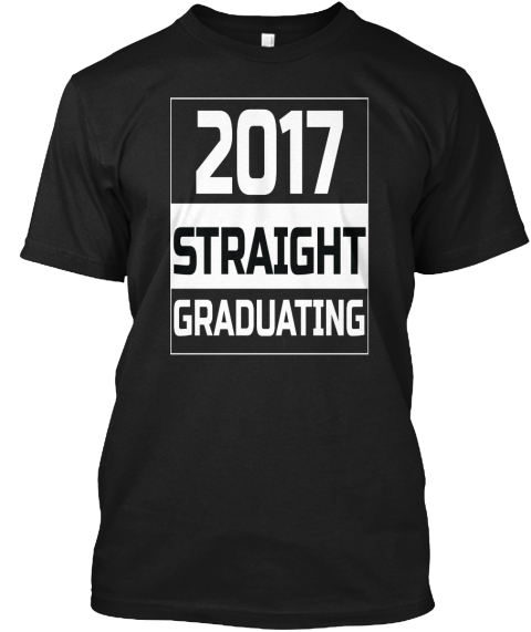 Final Year Tee 2 Black T-Shirt Front