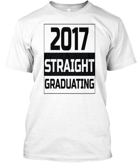Final Year Tee White T-Shirt Front