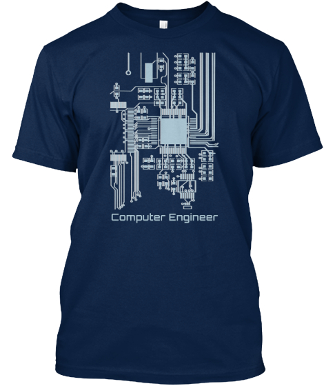 Computer Engineer T-Shirt Front