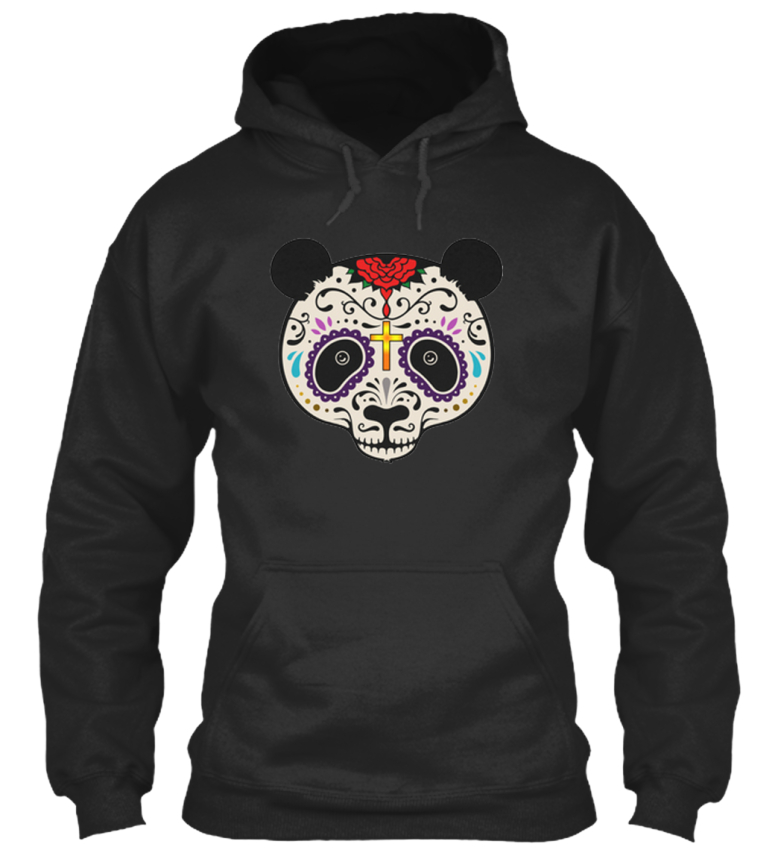 Panda-T-Colorful-Face-Standard-College-Hoodie