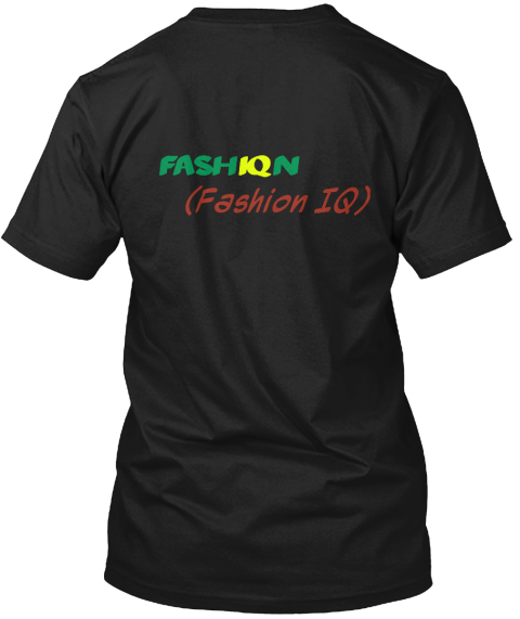 Fash Iq N (Fashion Iq) Black Kaos Back
