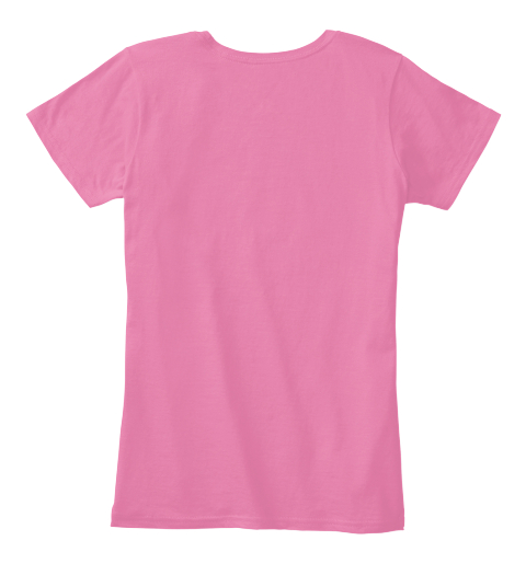 Prostate Cancer True Pink Women's T-Shirt Back