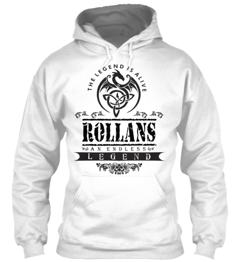 Rollans  White T-Shirt Front