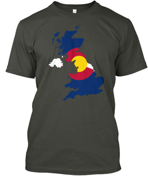 Limited Edition   Coloradan British Smoke Gray T-Shirt Front