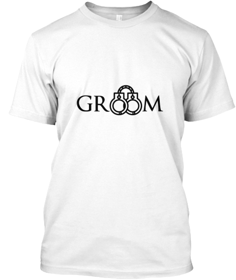 Gr M White T-Shirt Front