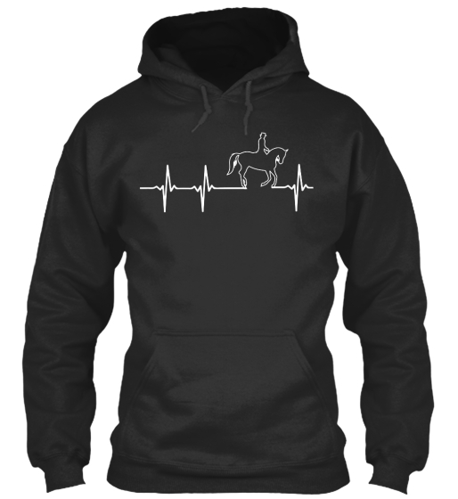 Horse In My Heartbeat!! Sweatshirt Front