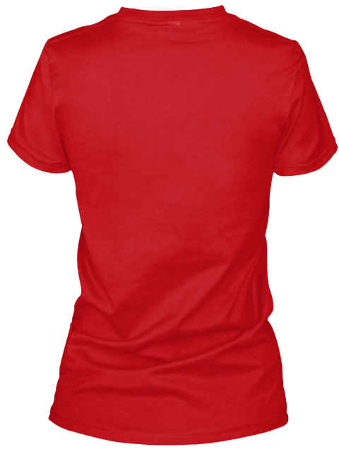 All The Nopes (Red, Black, Blue)  Red T-Shirt Back