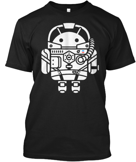 Spacedroid Droid Tee Fragmented T-Shirt Front