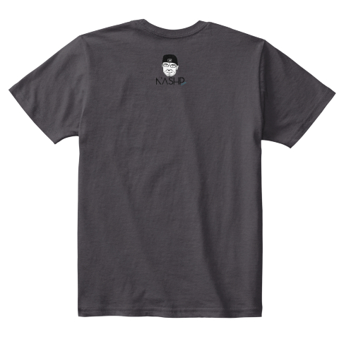 Hero (Kids) Heathered Charcoal  T-Shirt Back
