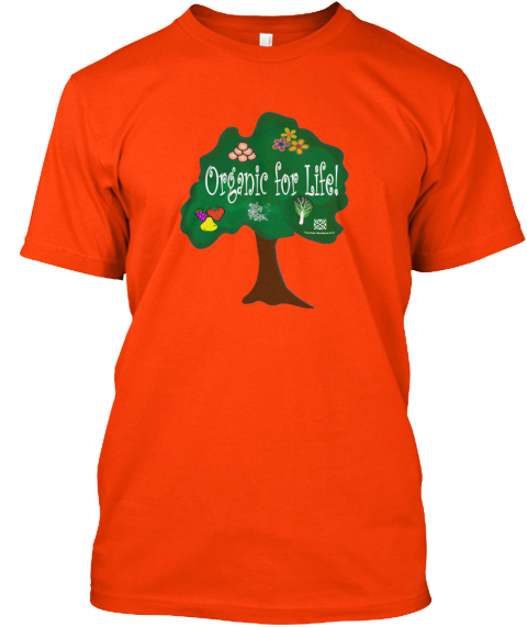 Kee Yah Gardens Fund Seeding Orange T-Shirt Front