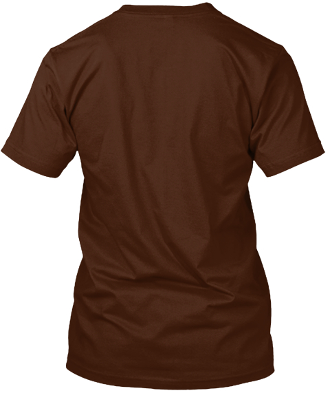 Yay Serotonin! Limited Edition Reprint Brown T-Shirt Back
