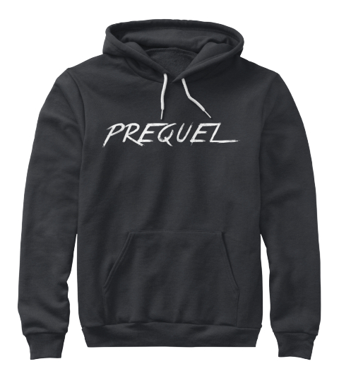 Prequel Dark Heather Grey Sweatshirt Front