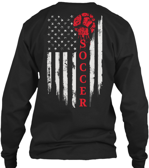 Soccer Long Sleeve T-Shirt Back