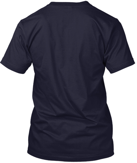 I Love Fuzz   Astrosquid Navy T-Shirt Back