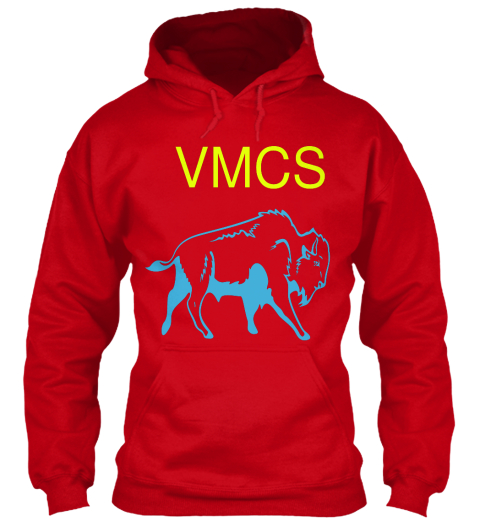 Vmcs Red Sweatshirt Front