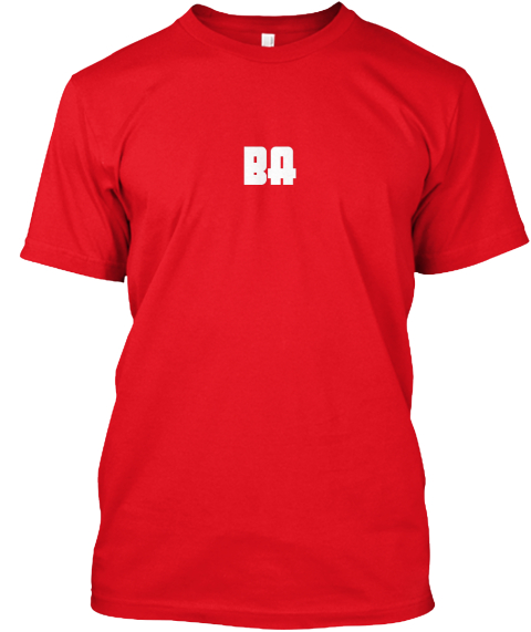Ba Tee (Multiple Colors) Red T-Shirt Front