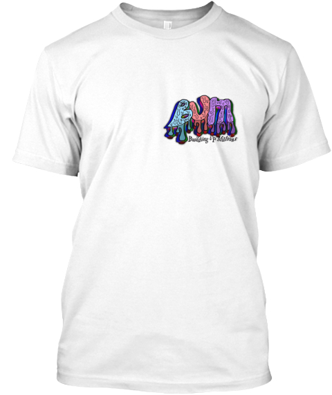 Bum White T-Shirt Front