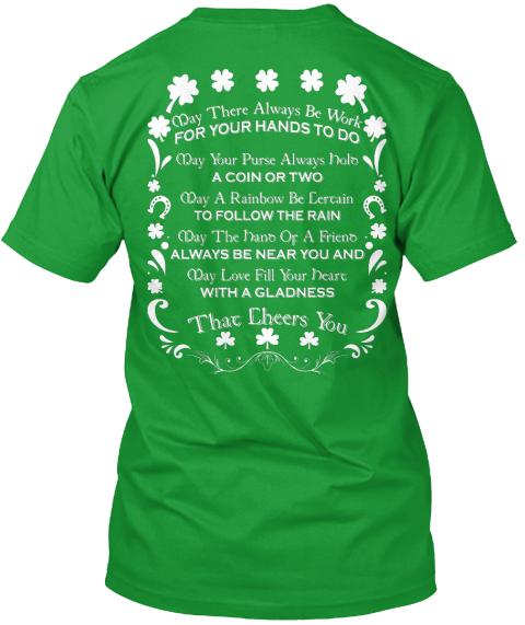 80fd24e7 St. Patrick's Day 18 Irish Blessings Products from Irish Hut | Teespring