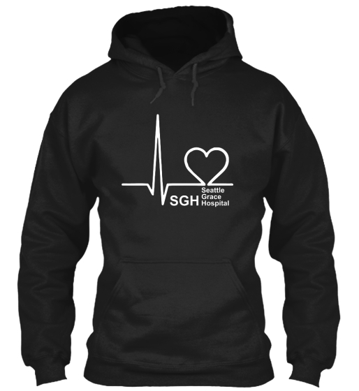 Sgh Seattle Grace Hospital Sweatshirt Front
