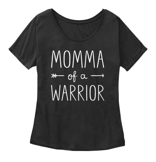 Momma Of A Warrior Lw Women's T-Shirt Front