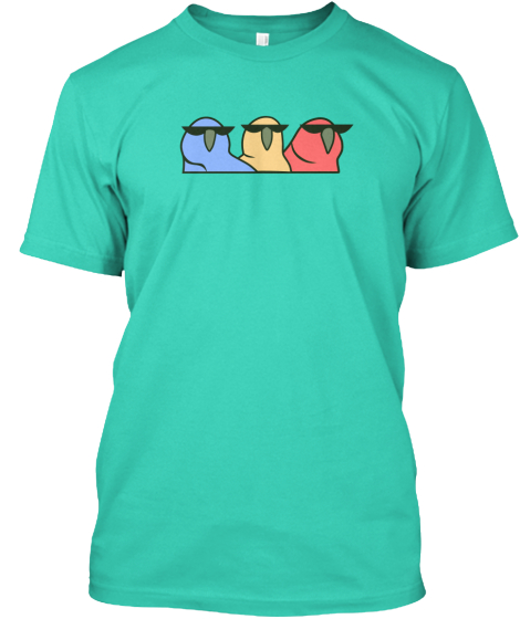 :Partyparrot: T-Shirt Front