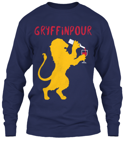 Gryffinpour Long Sleeve T-Shirt Front
