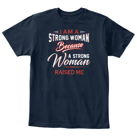 Kids Tees: Raise Strong Women T-Shirt Front