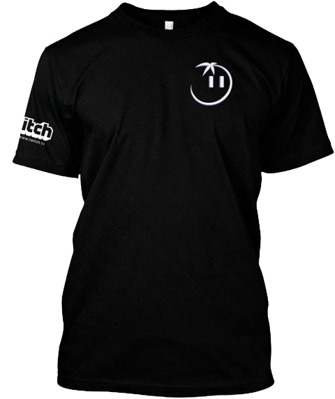 Orlando Community Meetup Swag Black T-Shirt Front