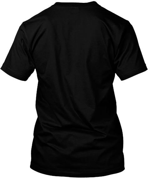 Say No To Rage   Raider Edition Black T-Shirt Back