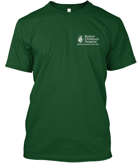 Boston Children's Nicu  T-Shirt Front