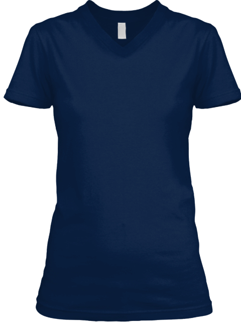 West Virginia Old Woman Navy T-Shirt Front