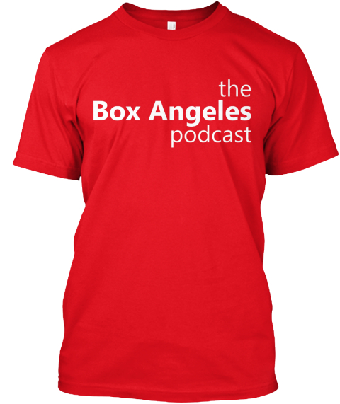 Box Angeles Tee (Multiple Colors) Red T-Shirt Front