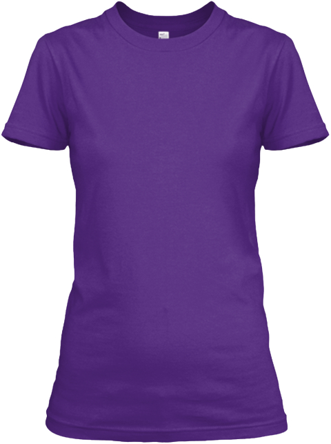 Thank You Mom Purple Women's T-Shirt Front