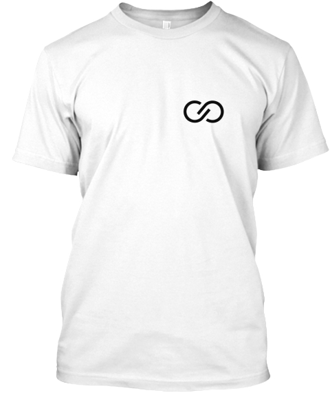 Roomie   New Black Symbol White T-Shirt Front