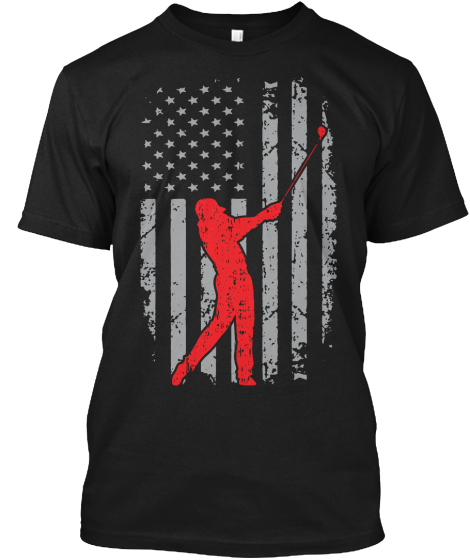 America And Golf   Ltd. Edition T-Shirt Front