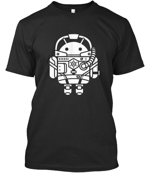 Droid Tee #?? Fragmented T-Shirt Front