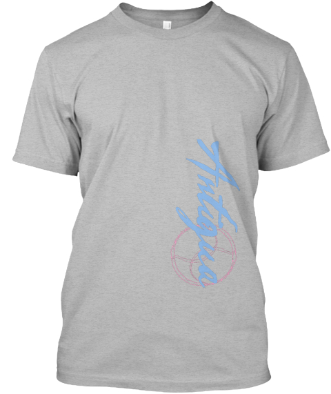 Antigua Sport Grey T-Shirt Front
