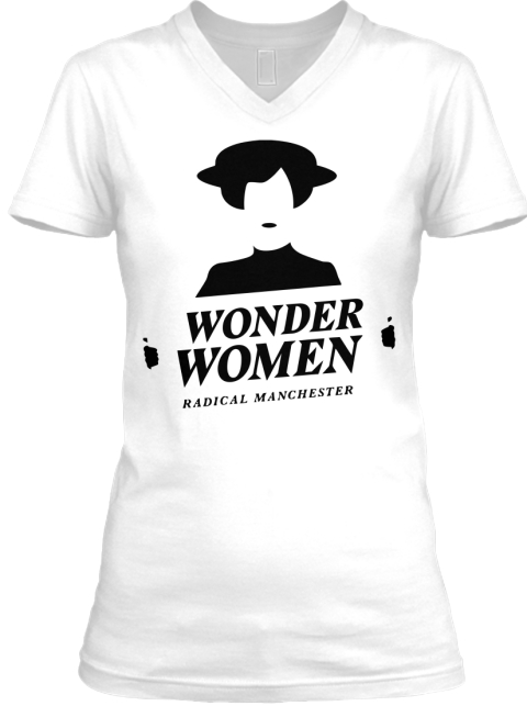 Wonder Women Awesome T'shirt White T-Shirt Front