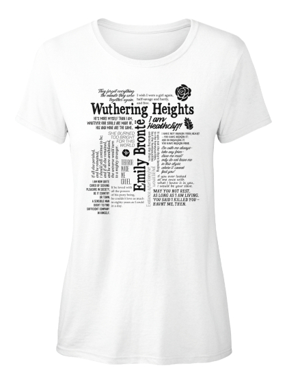 Wuthering Heights Emily Bronte Women's T-Shirt Front