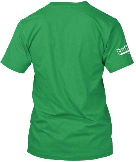 Breath Of The Buttface Kelly Green T-Shirt Back