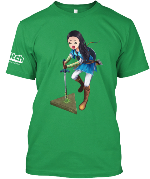 Breath Of The Buttface Kelly Green T-Shirt Front