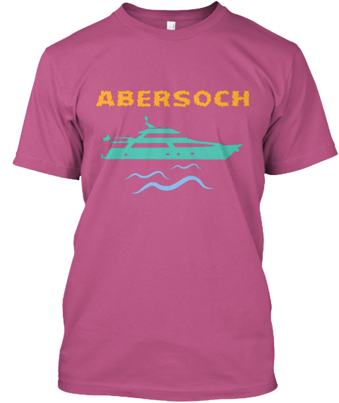 Abersoch Heliconia T-Shirt Front