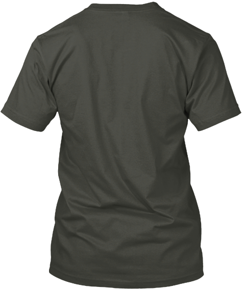 #Shot Put#World's Okayest Shot Put Playe Smoke Gray T-Shirt Back
