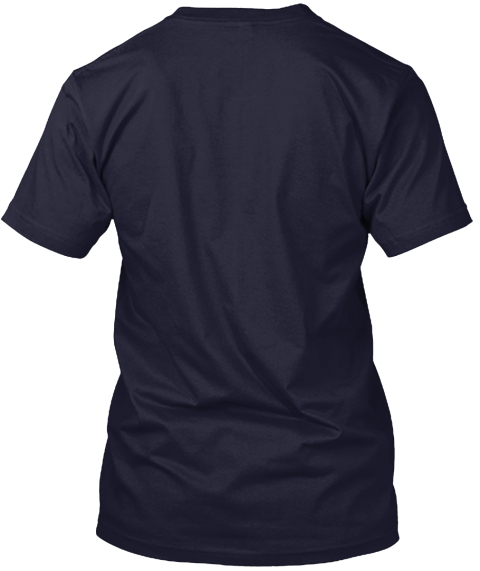 The Made In Dsm T Shirt Navy T-Shirt Back