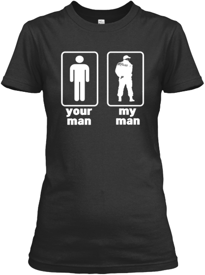 Your Man My Man Women's T-Shirt Front