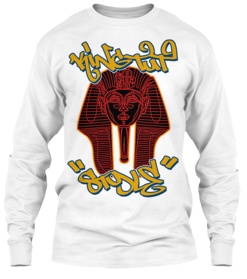 Mr Wiggles King Tut Style Long Sleeve T-Shirt Front